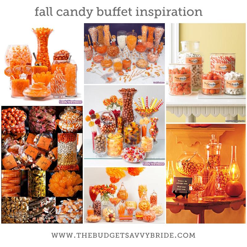 Fall Candy Buffet Ideas