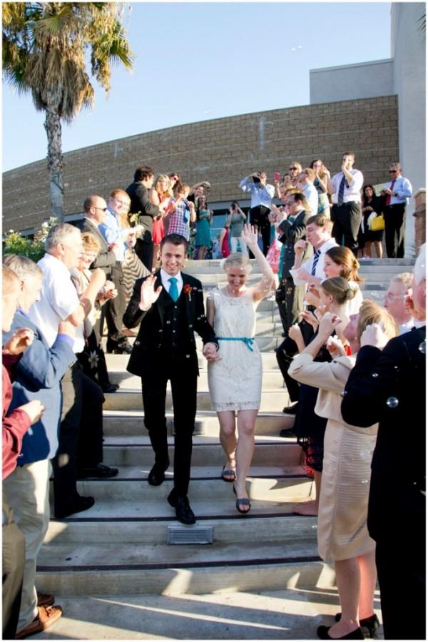 wedding goodbye