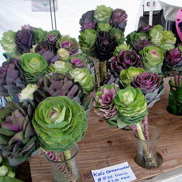 vegetable wedding bouquet