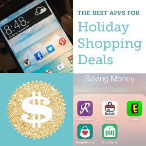 best apps for holiday shopping