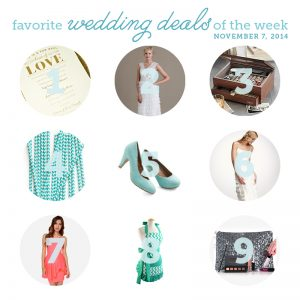 wedding deals of the week