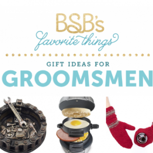 Let's face it: guys are hard to shop for. If your groom needs some help shopping for his dudes, be sure to show him this handy groomsmen gift guide.