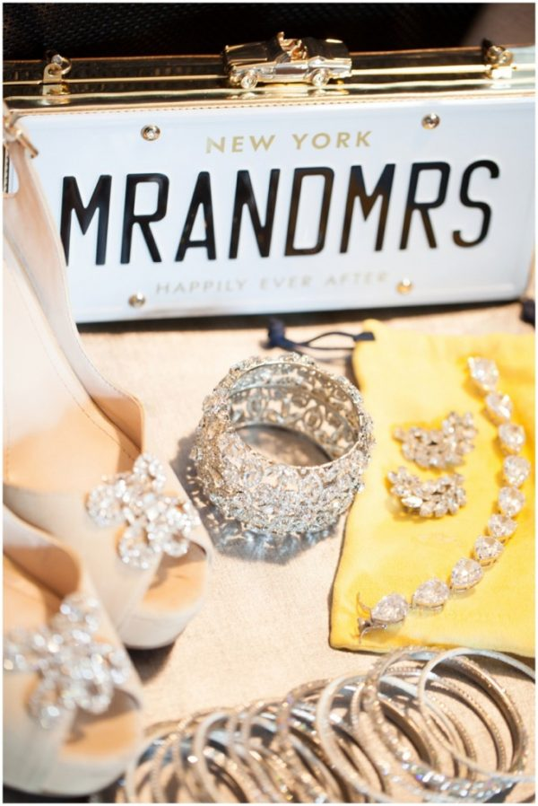 glamorous wedding accessories