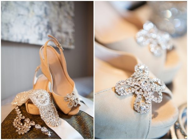 glam wedding accessories