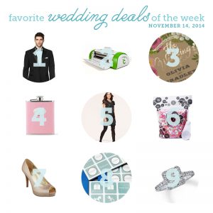 wedding deals for November 14th
