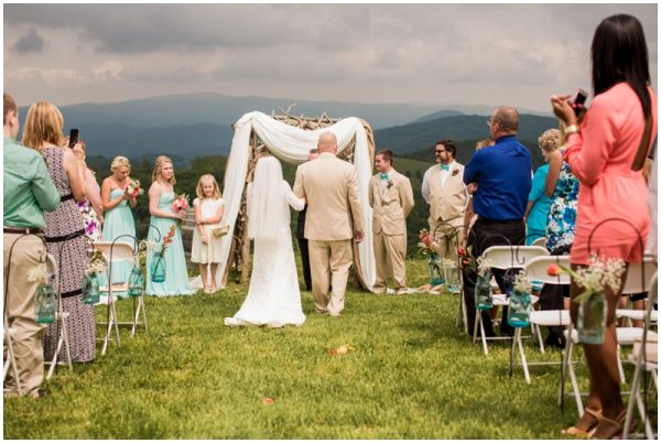 mint wedding march