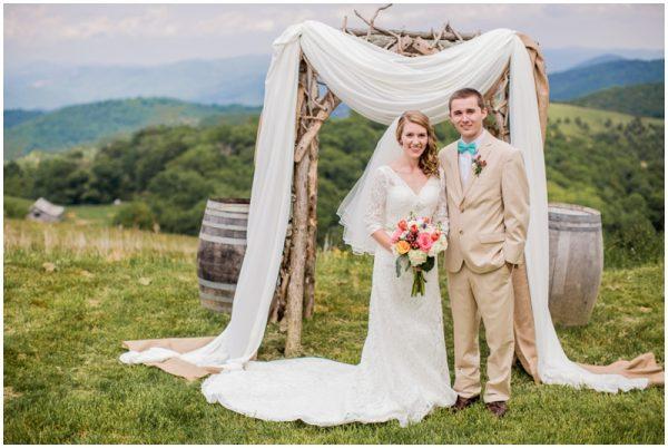 mint wedding portraits