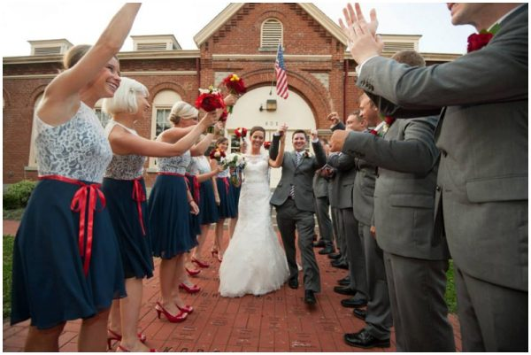 red and navy wedding_0013