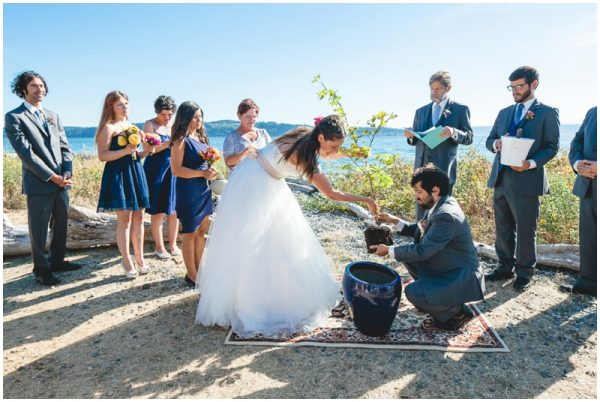 planting wedding ceremony