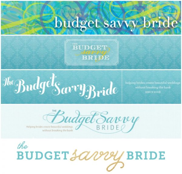 the budget savvy bride headers