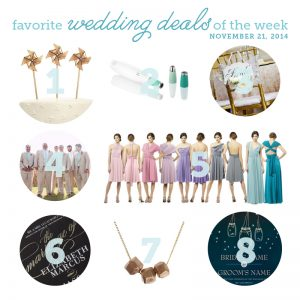 wedding deals nov 21