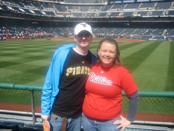 Kyle and I at PNC Park