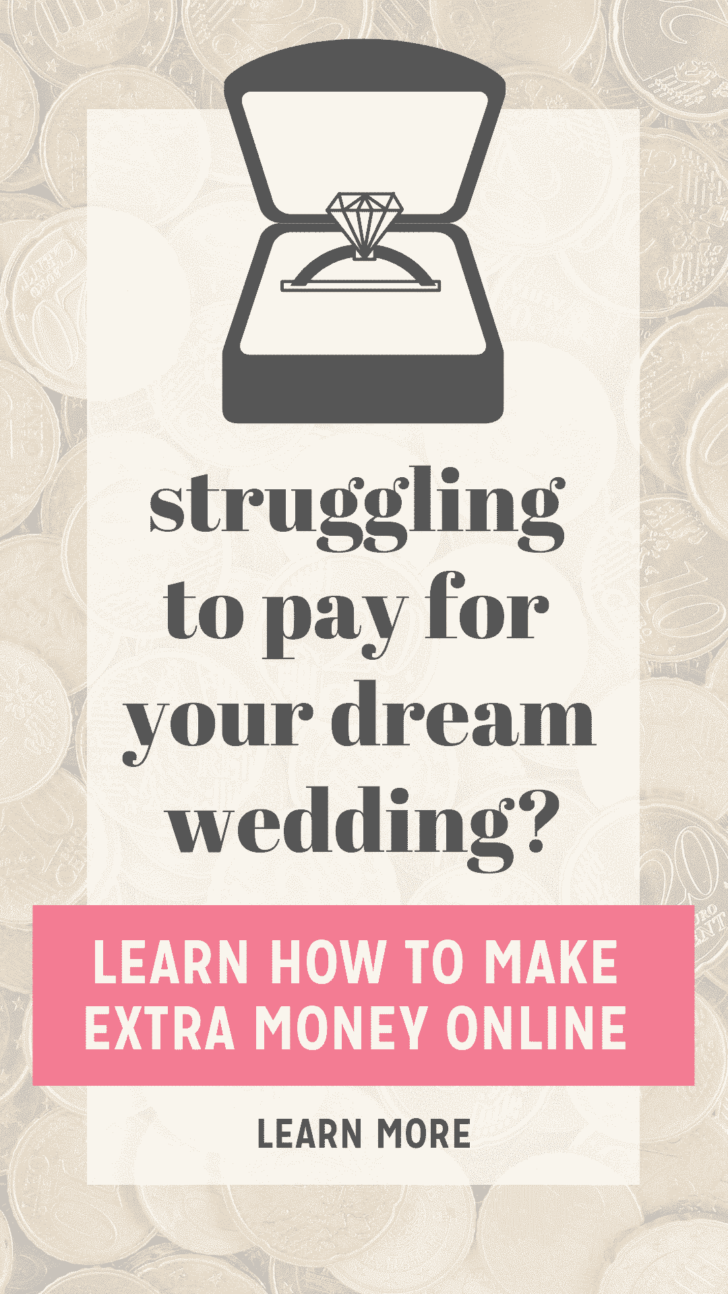EARN MONEY ONLINE FOR YOUR WEDDING