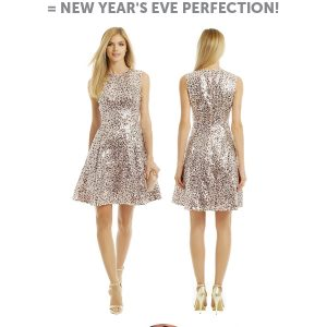 cover girl rent the runway new years eve look