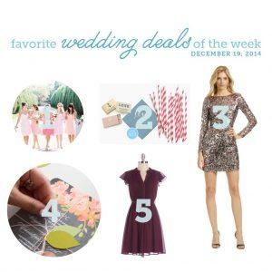 wedding deals for december 19