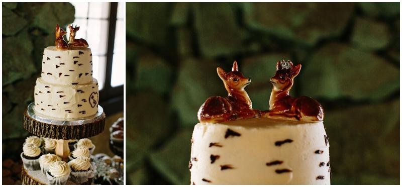 www.james-stokes.com winter wedding cake topper deer