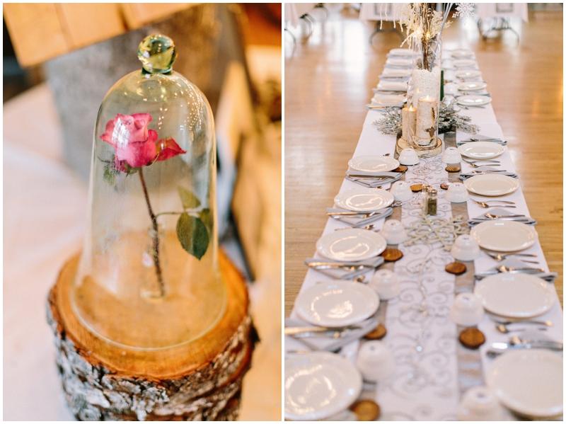 www.james-stokes.com winter wedding reception table details