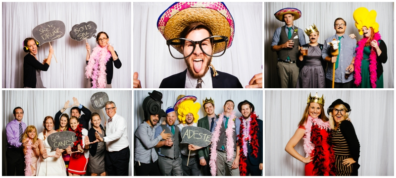 wedding photobooth photos