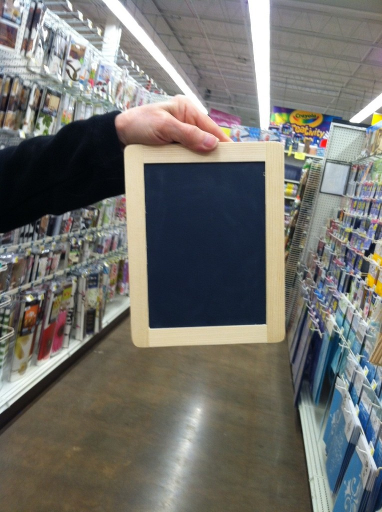 Chalkboards from AC Moore
