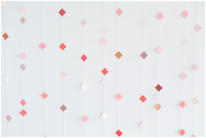 diy geometric backdrop tutorial