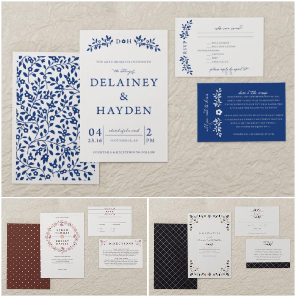 magnetstreet standard wedding invitations
