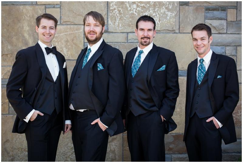 retro inspired groomsmen