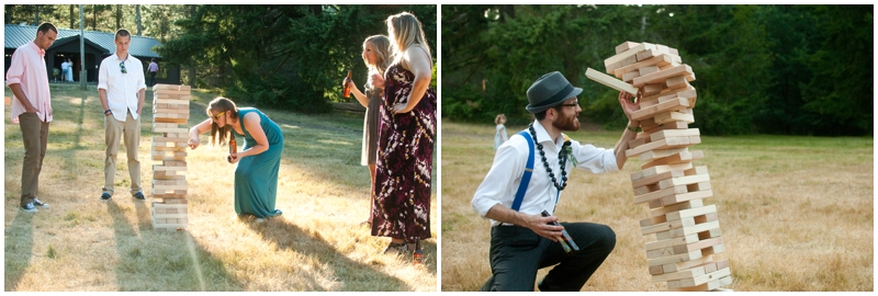 Rustic Barn Wedding reception games