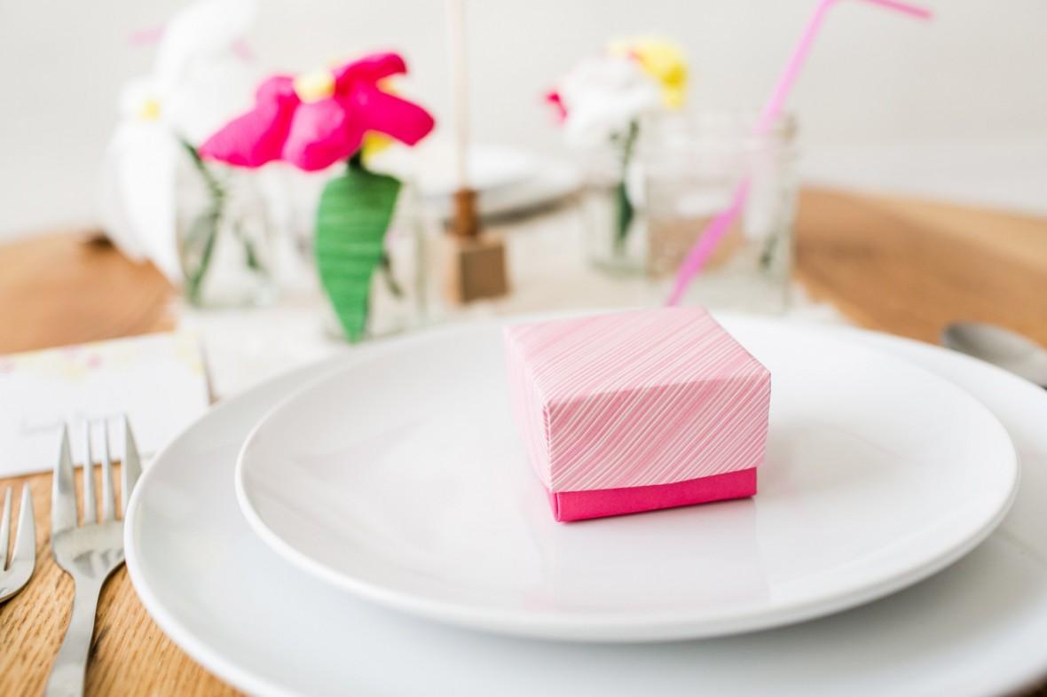 DIY Origami Favor Boxes