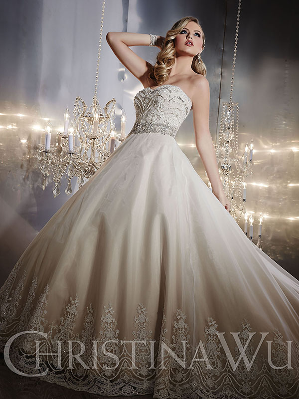 Glamorous wedding gowns at sensible prices | The Budget Savvy Bride