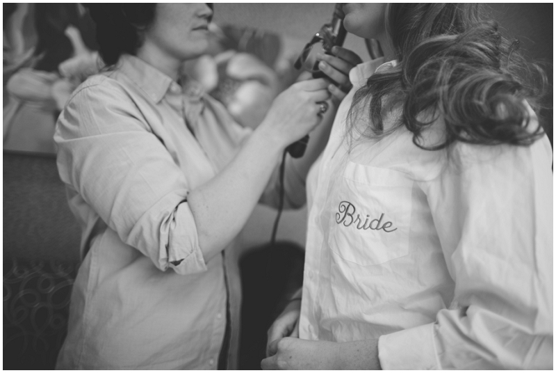 bride button-up