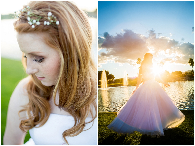 outdoor bridal photos