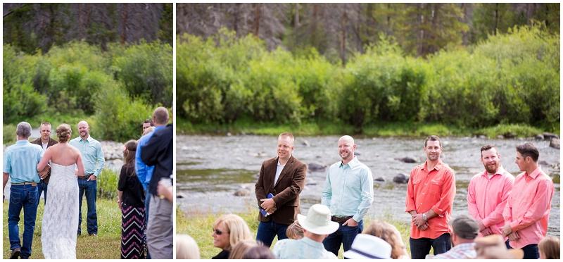 Colorado outdoor ceremony