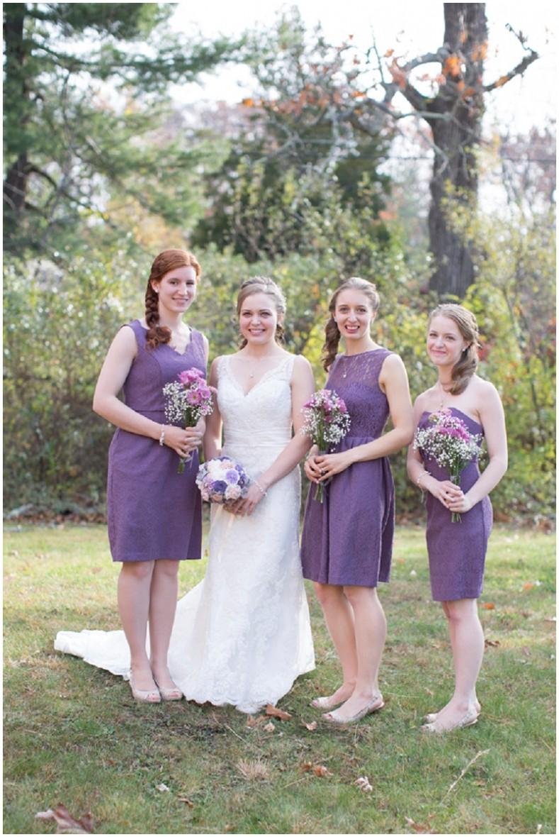 Intimate lavender wedding the budget savvy bride lavender bridesmaid dress ombrellifo Gallery
