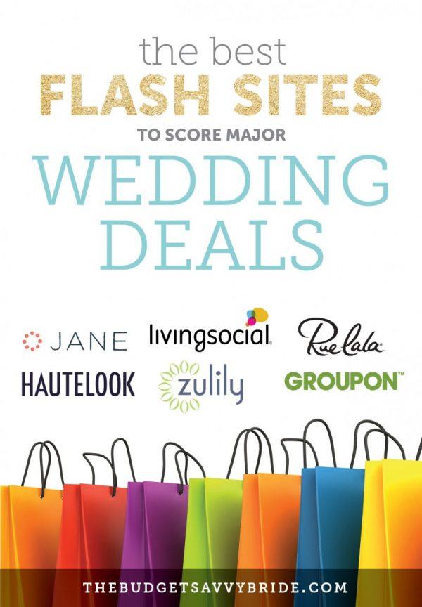 Deal Websites for Brides on a Budget