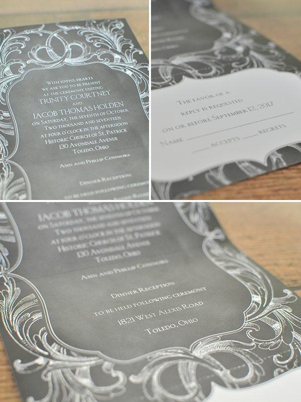 bsb_chalkboardflourishcollage - Seal And Send Wedding Invitations