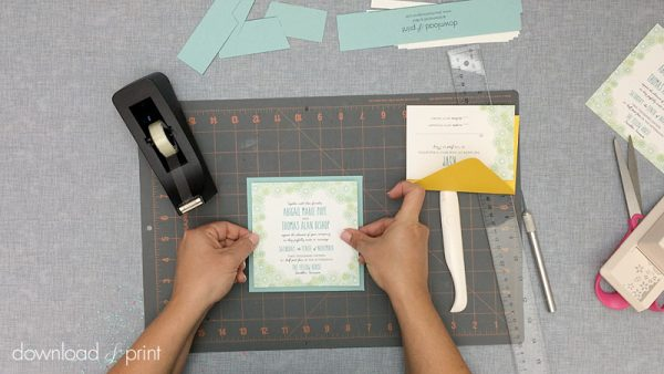 Download-and-Print-Daisy-Pocketfold-Tutorial-12-Mount-Invitation