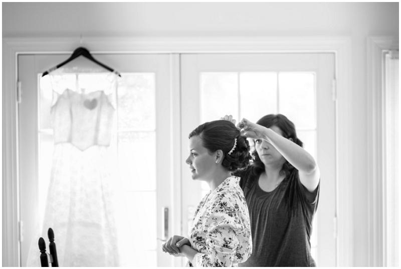 bride hair photo