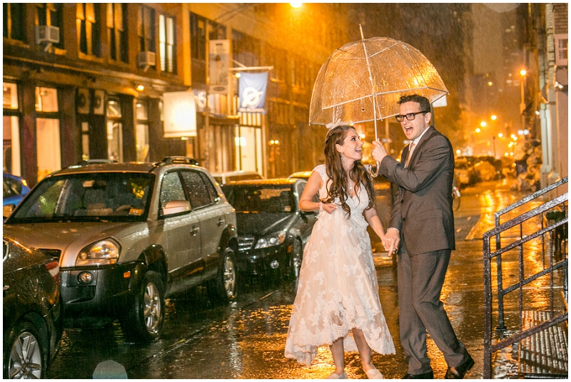 wedding rain photos