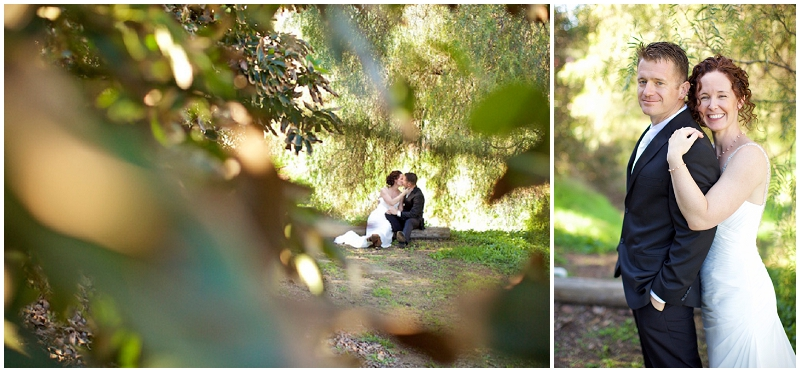 outdoor wedding bridal photos