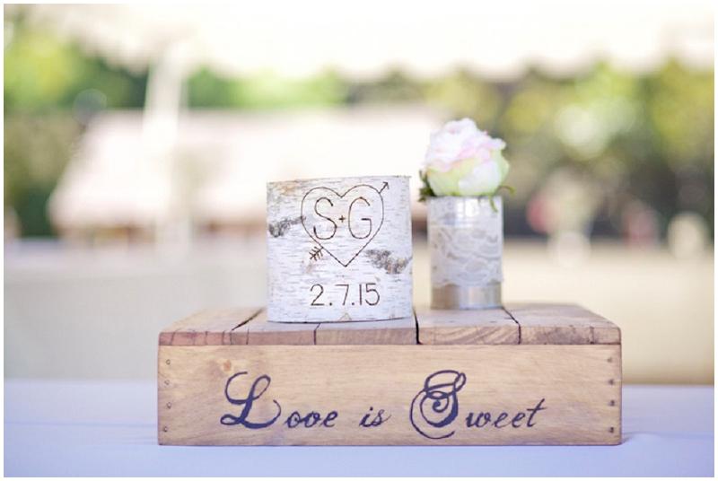 wedding mementos