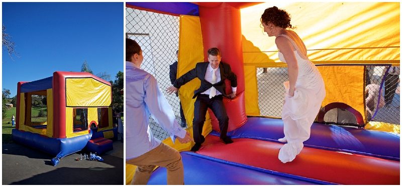 wedding bouncy house