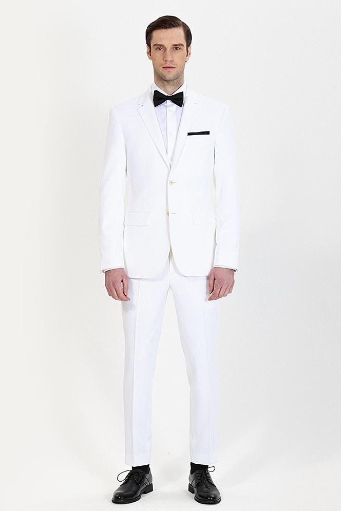 custom white tuxedo