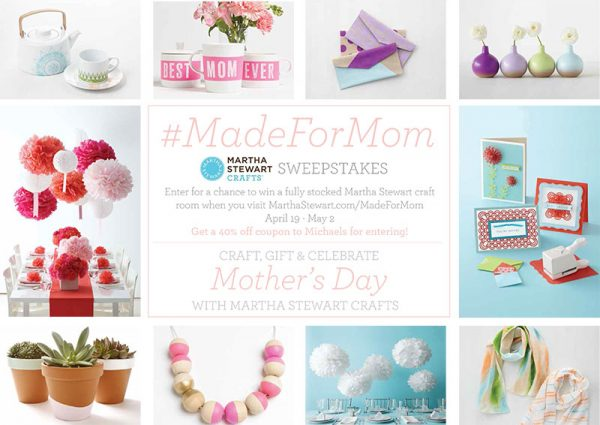 Martha Stewart Mother's Day