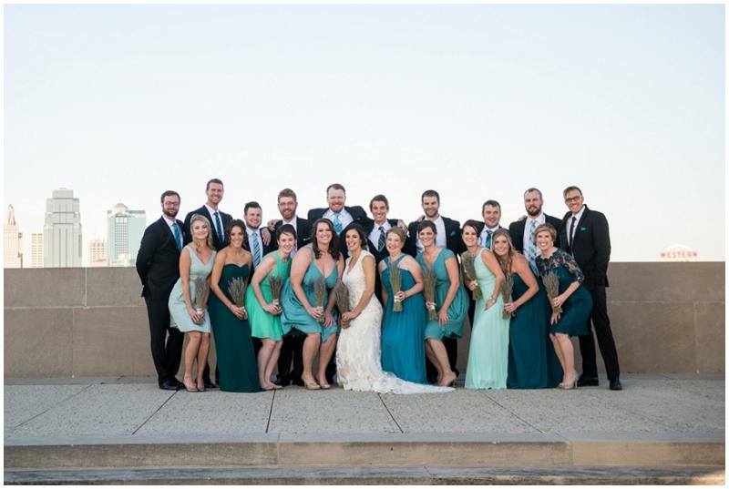 aqua wedding attire