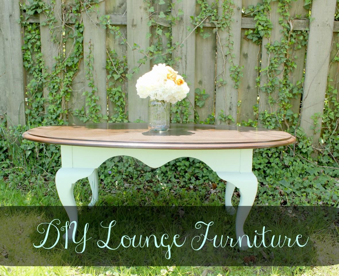 DIY Wedding Lounge Furniture