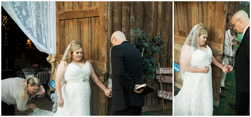 bride groom prayer before wedding