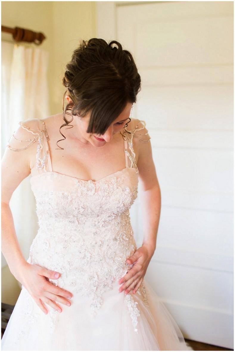 customized wedding dress