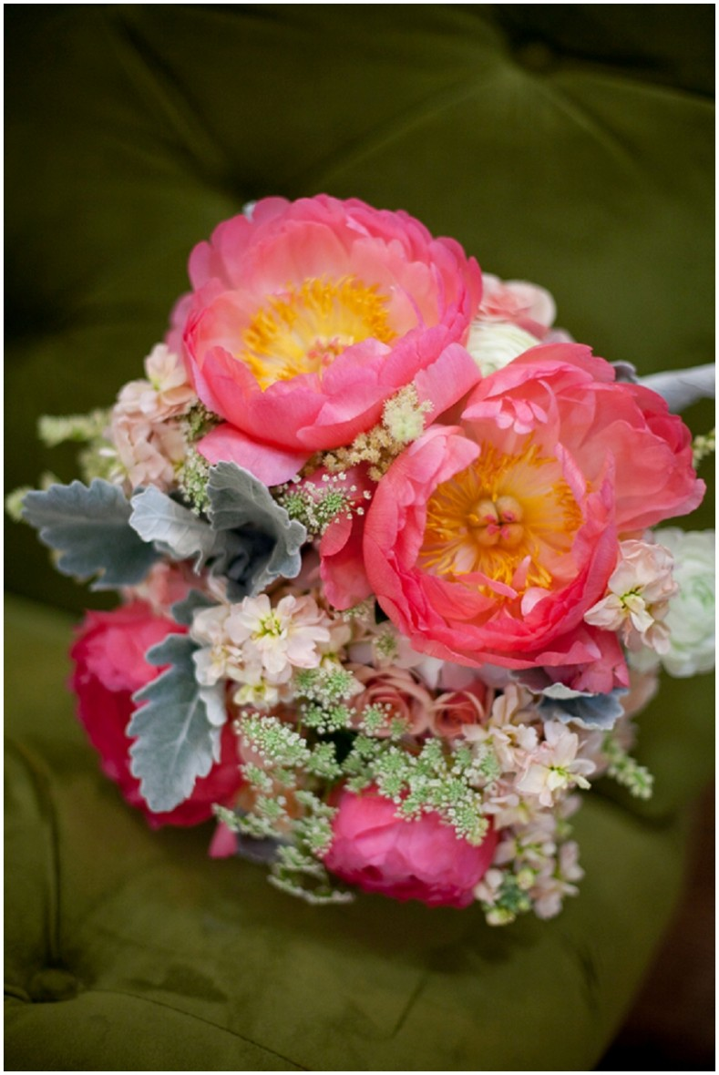 pink and yellow bouquet