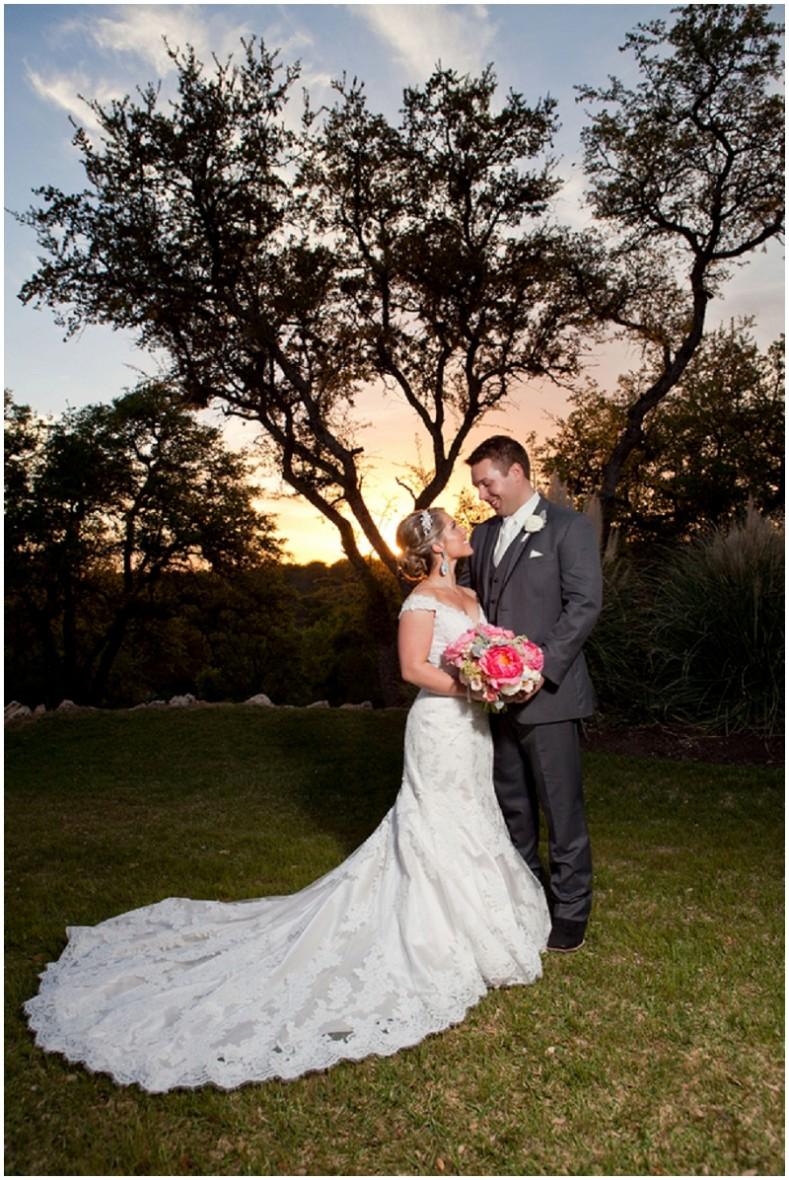 sunset wedding decors