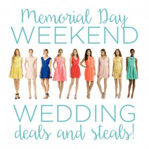 wedding deals 5-22